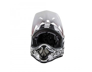 O´NEAL BACKFLIP RL II Vollvisierhelm SHOCKER black/white