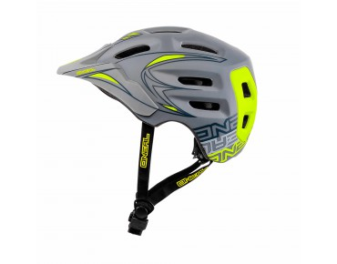 O´NEAL DEFENDER helmet grey/yellow