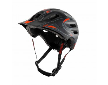 O´NEAL DEFENDER helmet black/red