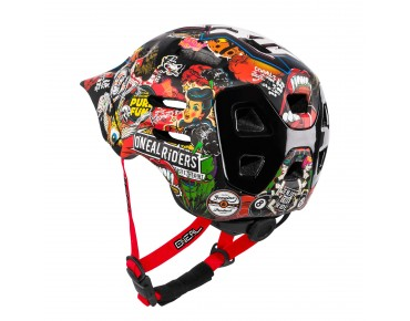 O´NEAL DEFENDER - casco crank black/multi