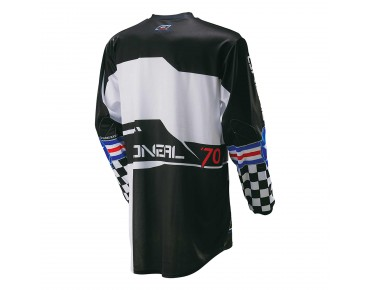 O´NEAL ELEMENT long-sleeved bike shirt AFTERBURNER black/blue