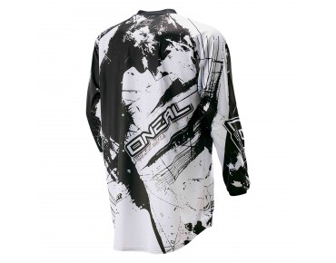 O´NEAL ELEMENT long-sleeved bike shirt SHOCKER black/white