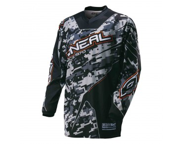 O´NEAL ELEMENT long-sleeved bike shirt digi camo black