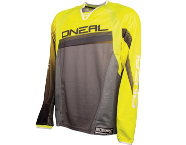 O´NEAL ELEMENT FR 2015 long-sleeved bike shirt neon yellow