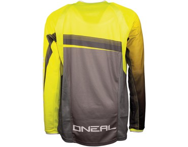 O´NEAL ELEMENT FR 2015 long-sleeved bike shirt day-glo yellow