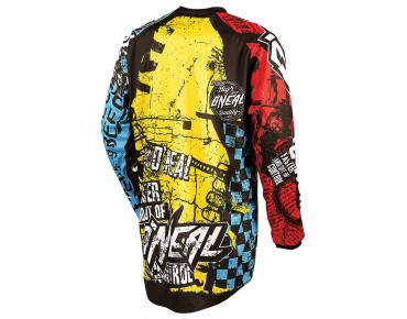O´NEAL ELEMENT YOUTH long-sleeved bike shirt wild multi