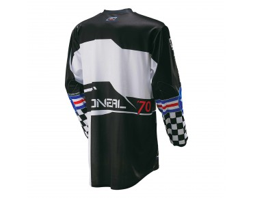 O´NEAL ELEMENT YOUTH long-sleeved bike shirt AFTERBURNER black/blue