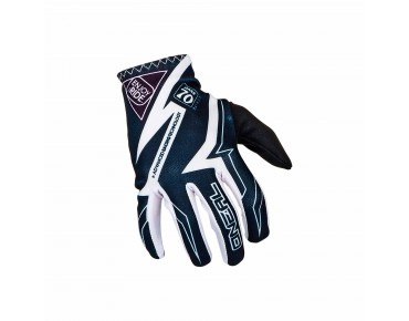 O´NEAL MATRIX - guanti racewear black/white