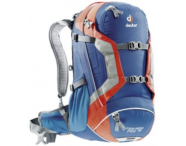 deuter TRANS ALPINE PRO 28 Rucksack steel-papaya