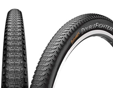 Continental Double Fighter III MTB tyre black