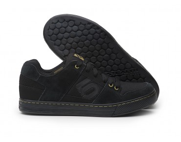 FIVE TEN FREERIDER - scarpe MTB flat black leather