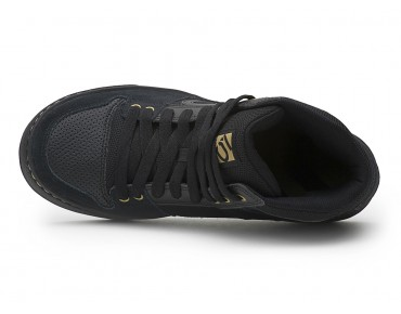 FIVE TEN FREERIDER HIGH Flat Pedal Schuhe black leather