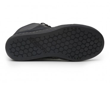 FIVE TEN FREERIDER HIGH flat pedal shoes black leather