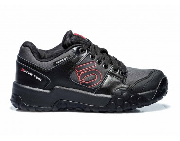 FIVE TEN IMPACT LOW flat pedal shoes black/red