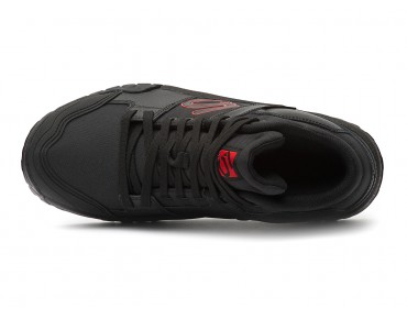 FIVE TEN IMPACT HIGH flat pedal shoes black/red