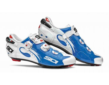 SIDI WIRE CARBON VERNICE road shoes blue/white