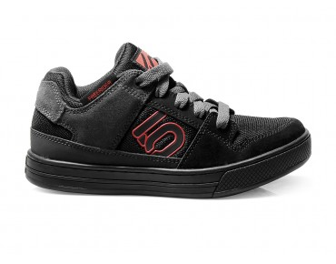 FIVE TEN FREERIDER KIDS flat pedal shoes team black/red