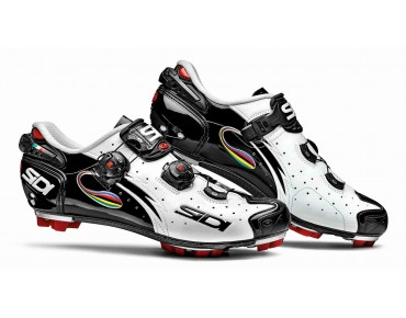 SIDI DRAKO CARBON SRS VERNICE MTB shoes white/black/iride