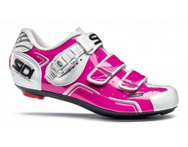 SIDI LEVEL women's road shoes fuxia/white