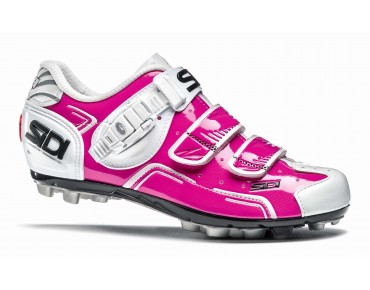 BUVEL WOMAN MTB shoes fuxia/white