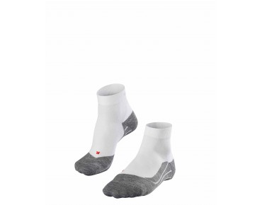 FALKE RU4 SHORT socks white/grey