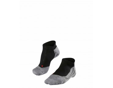 FALKE RU4 INVISIBLE Socke black/grey