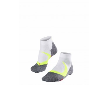 FALKE RU4 CUSHION SHORT socks lightning-white