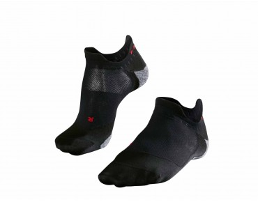 FALKE RU5 INVISIBLE socks black/grey