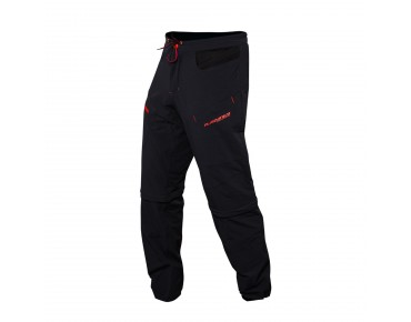 PLATZANGST CROSSFLEX Zipp-off Pants black