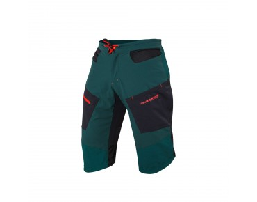 PLATZANGST CROSSFLEX bike shorts petrol