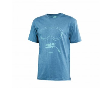 PLATZANGST GRIN T-Shirt grey blue