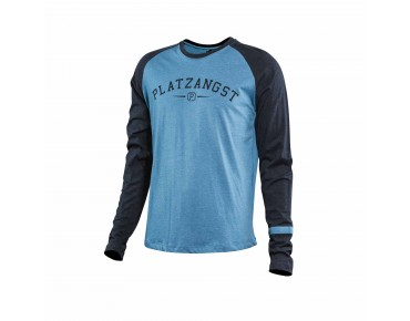 PLATZANGST BACKSTER Langarm-Funktionsshirt grey blue