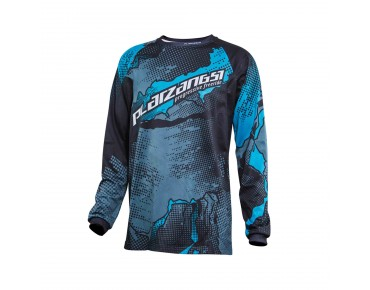 PLATZANGST STEWARD long-sleeved bike shirt blue