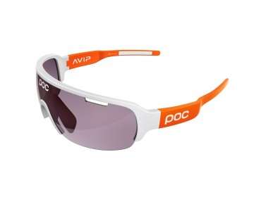 POC DO HALF BLADE sports glasses hydrogen white/zinc orange