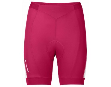 VAUDE ADVANCED SHORTS II women's cycling shorts grenadine