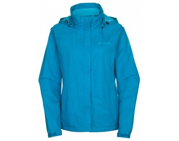 VAUDE ESCAPE BIKE LIGHT JACKET all-weather damesjack spring blue