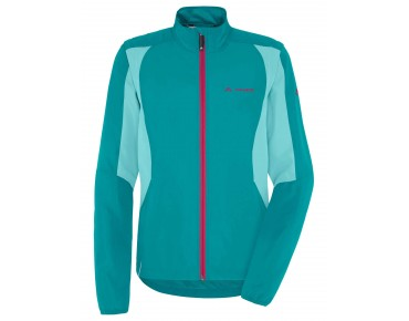 VAUDE DUNDEE CLASSIC ZO JACKET zip-off windbreaker for women reef