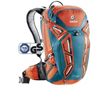 deuter ATTACK 20 backpack papaya-petrol