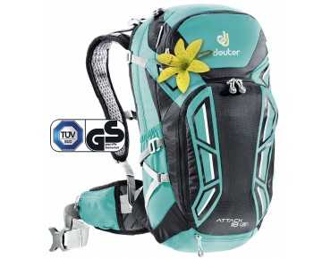 ATTACK 18 SL women's backpack mint-black