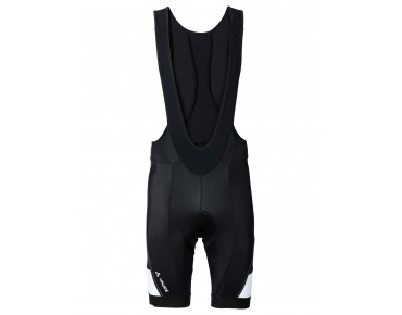 VAUDE ADVANCED II bib shorts black/white