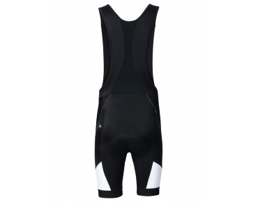 VAUDE ADVANCED II bib shorts black-white