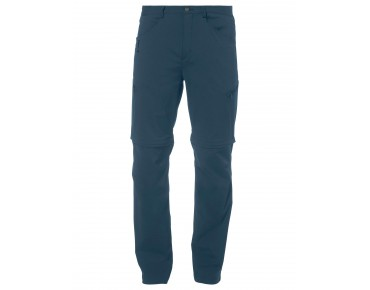 VAUDE YAKI ZO PANTS zip-off trousers dark petrol