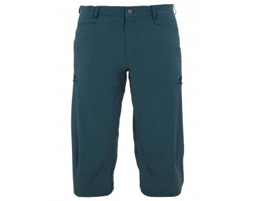 VAUDE YAKI ¾ PANTS cycling trousers dark petrol