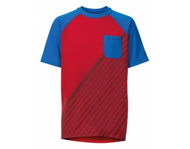VAUDE GRODY SHIRT III kids' jersey red