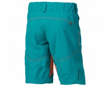 VAUDE GRODY SHORTS IV kids' cycling shorts reef