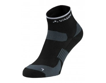 VAUDE SHORT BIKE SOCKS black