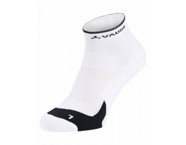 VAUDE SHORT BIKE SOCKS white
