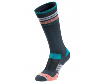 VAUDE BIKE SOCKS LONG Socken dark steel