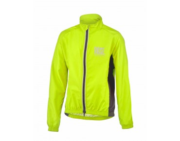 ROSE PRO FIBRE II Kinder-Windjacke fluo yellow/black