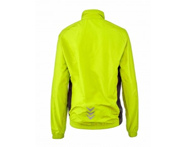 ROSE PRO FIBRE II kids' windbreaker fluo yellow/black